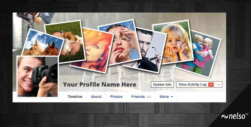 Facebook coverpage template three