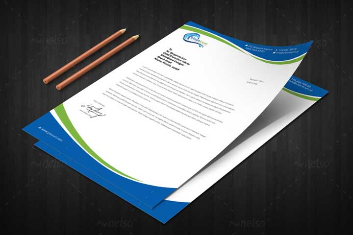 letterhead sample one