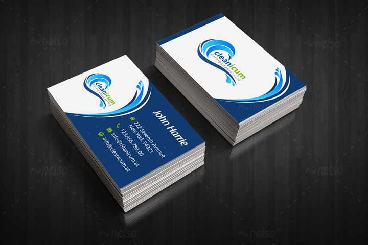 visiting card sample one