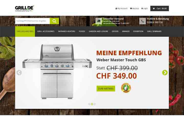 Website Devlopment-grillde-template