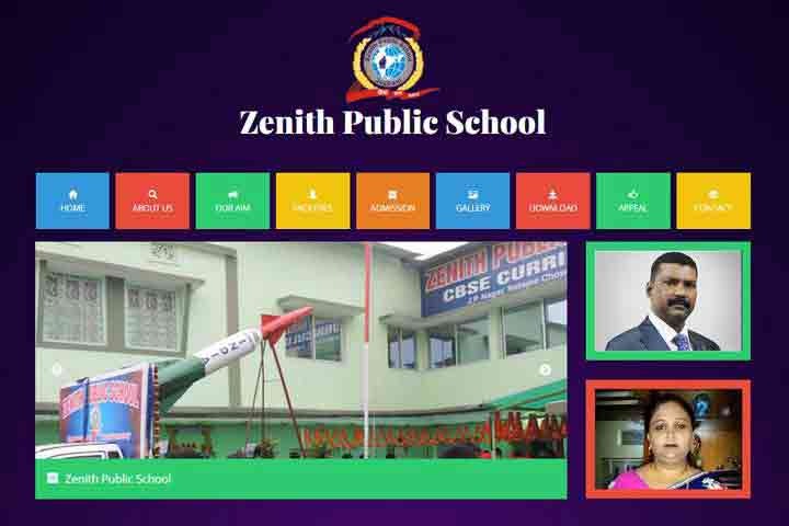 Website Devlopment-zenith-public-school-template
